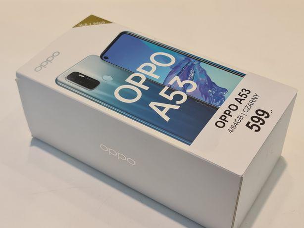 Oppo A53 4/64GB Czarny - nowy, gwarancja