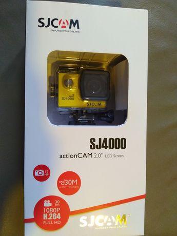 Kamera sportowa SJ4000 SJCAM Full HD 1080P + karta 32 GB gratis