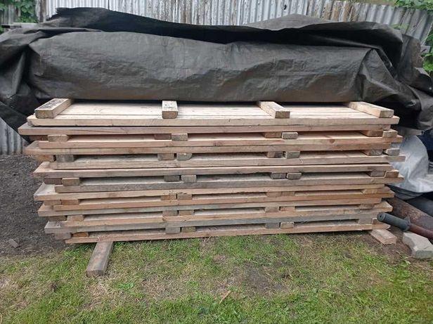 Blaty podesty belki drewniane 235/50/4 duze ilosci