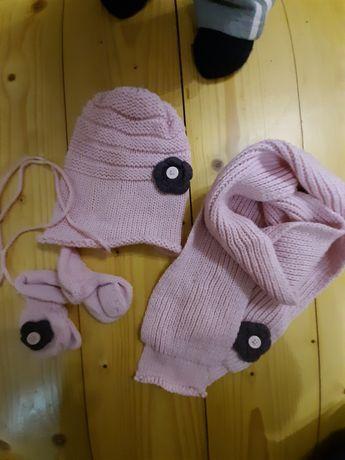 Набір шапочка,шарфик,рукавички