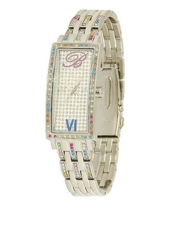 Часы Blumarine оригинал, цвет серебро, со сваровски