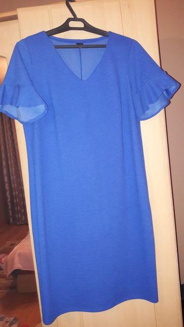 Sukienka chabrowa 40