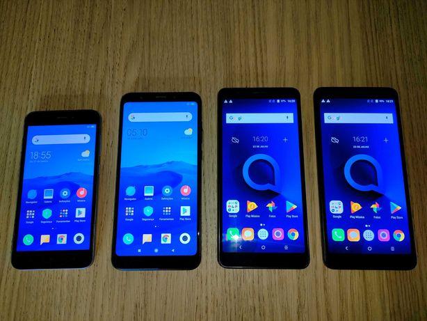 Smartphones Baratos (xiaomi redmi 5a / redmi 5 plus - 2 x alcatel 3C)