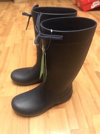 Сапоги резиновые Crocs freesail rian boot 34 35 размера W5 Оригинал