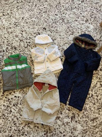 Курточки на мальчика от 12до 24 месяцев