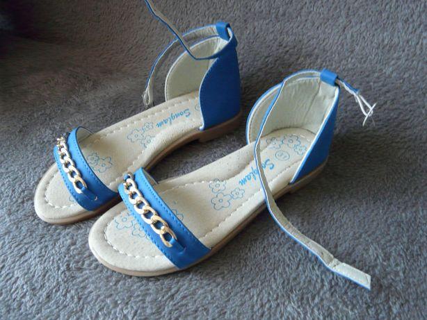 sandały dziewczęce rozmiar 31, 32
