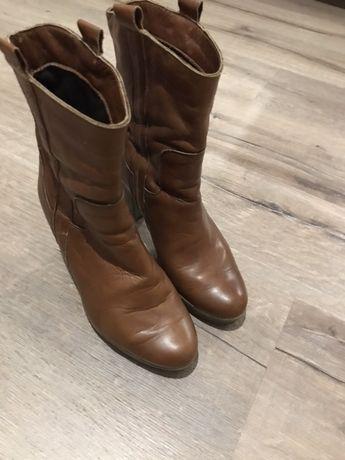 Ботинки осенние кожа, ботинки осінні шкіряні