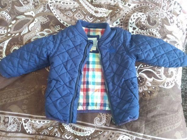 Куртка на мальчика 74