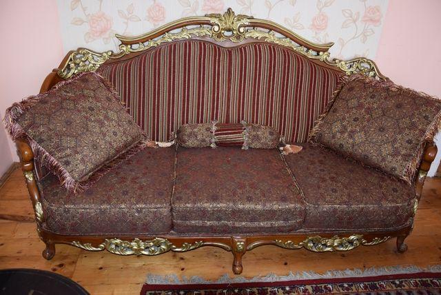stylowy komplet mebli wypoczynkowych salonowych