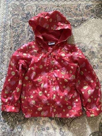 Плащ куртка дождевик оригинал Peppa Pig 98-104