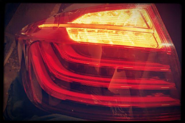 BMW 5 F10 przeróbka USA na EUR