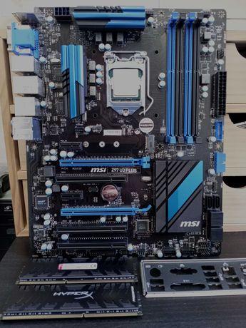 Bundle Core i7-4790k, Board MSI Z97 U3 Plus, 16GB DDR3 HyperX Predator