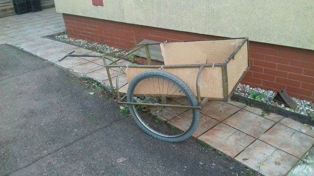 Sprzedam rower wózek masywny tanio okazja