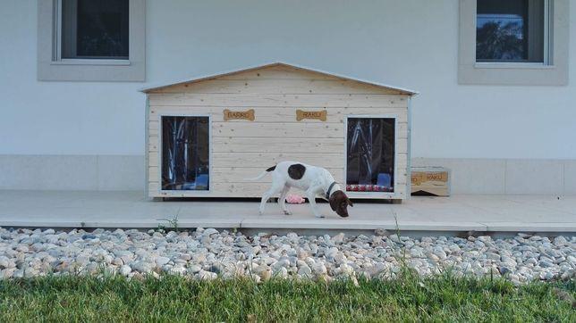 MSWood - Casotas para dois cães Modelo Kyara