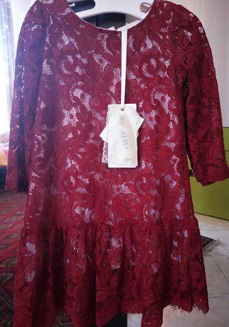 Новое платье  Monnalisa на 5 лет (110 см)