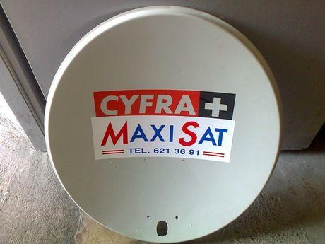 Antena, talerz CYFRA +