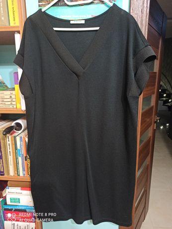 Nowa czarna sukienka Pieces r. M