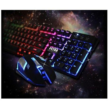 Клавиатура + мышка Petra MK1 c Подсветкой Игровая