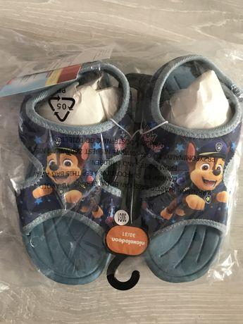 Buty kapcie sandałki Psi Patrol Paw Patrol nowe do przedszkola