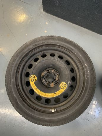Roda suplente 16 VAG - Seat VW Audi - jante ferro COM PNEU