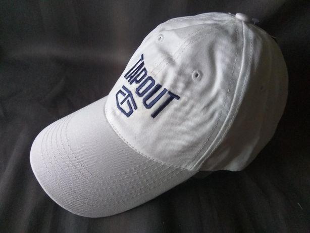 Фирменная кепка Tapout 100% хлопок белая размер 55-59