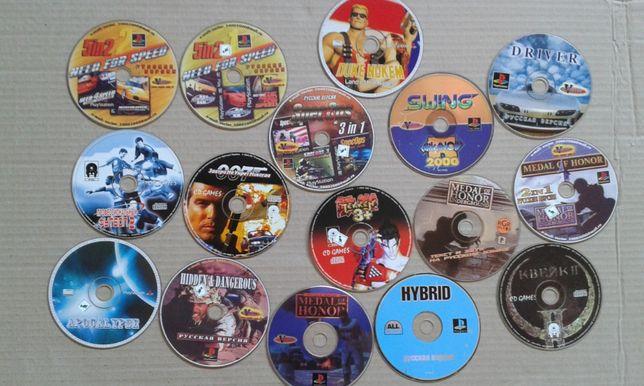 Игры для приставки Sony Playstation1