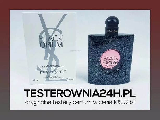 Yves Saint Laurent Black Opium 90ML EDP | NOWY TESTER