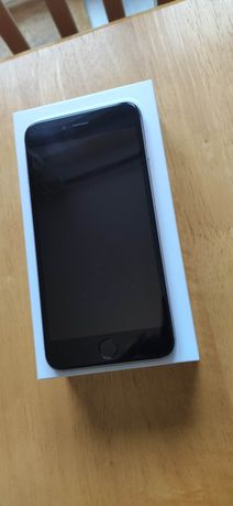 Iphone 6 plus silver 128 Gb 89% baterii + oryg case i reszta