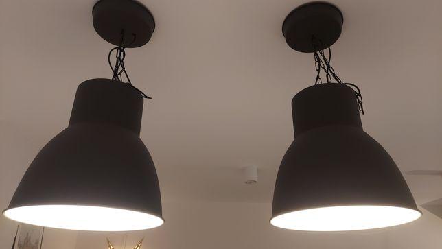 HEKTAR IKEA Lampa wisząca, ciemnoszara 47 cm