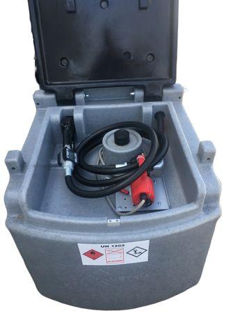 Zbiornik mobilny paliwo przewoźny poj 460L - dwupłaszczowy 1500L 2500L