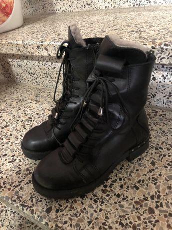Ботинки кожание