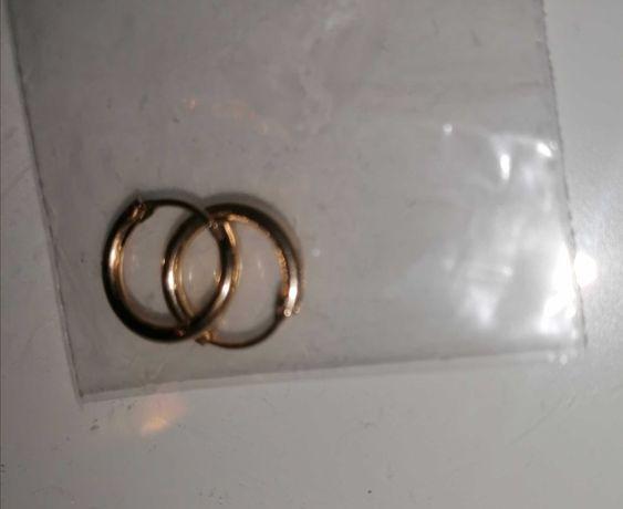 Piercings argolas douradas