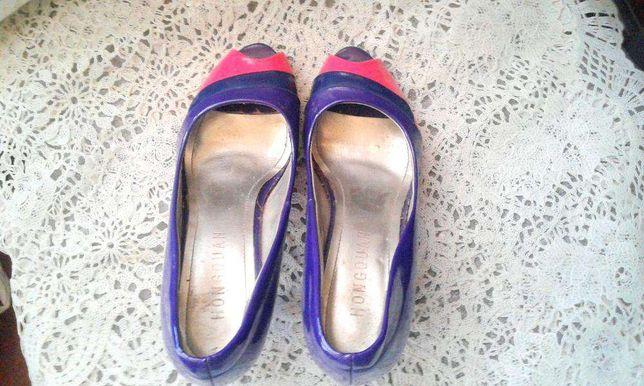 Туфли 36р(маломерки),искусственный лак