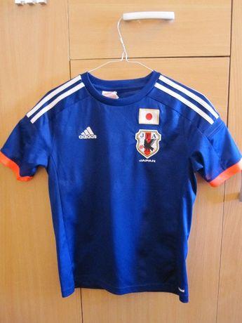 Koszulka Adidas reprezentacji Japonii roz:152 cm 11-12 lat