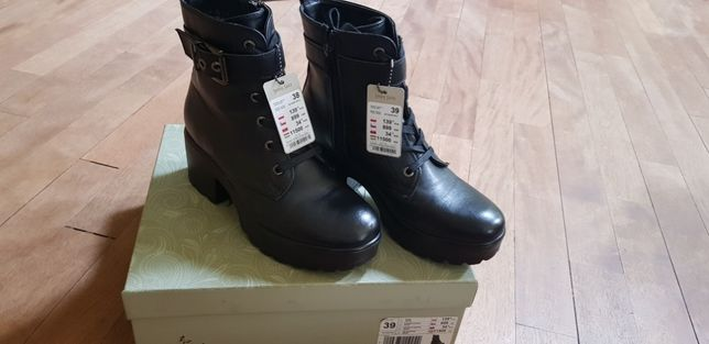 Buty skóra na zimę
