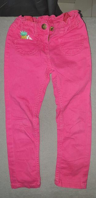 Spodnie jeansowe rurki - 104cm