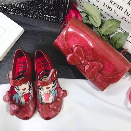 Nowa mala mini melissa czerwona