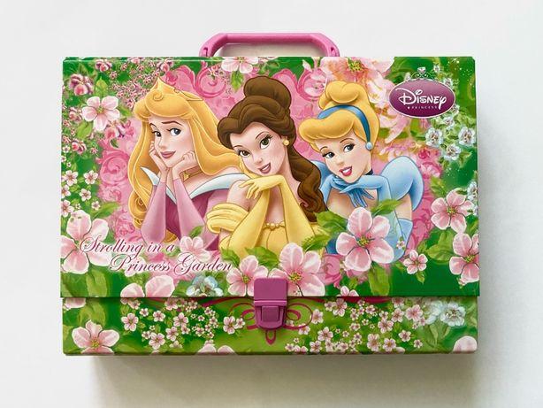 Twarda teczka z rączką Disney księżniczki
