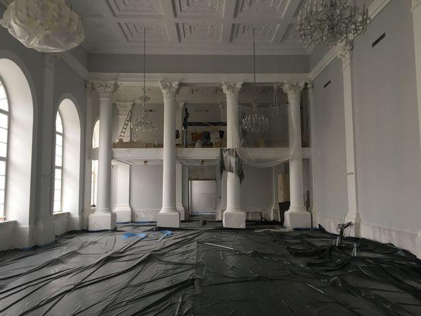 Стяжка підлоги пінополістерол бетон пневмоподатчик