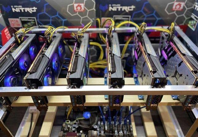 Настройка сборка и обслуживание майнинг ферм GPU, Asic