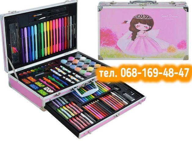 Набор для творчества KidsArt Case 122 предметов, Набор для рисования