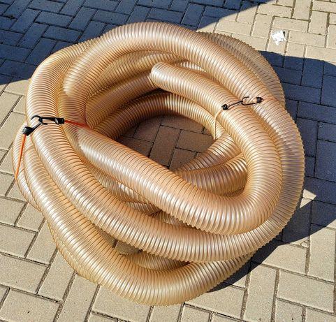 Wąż ssawny / przesyłowy ciężkościerny, poliuretanowy 20m stan BDB