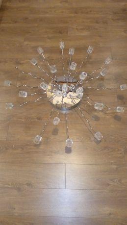 Lampa kryształ duża salon żyrandol kryształowy