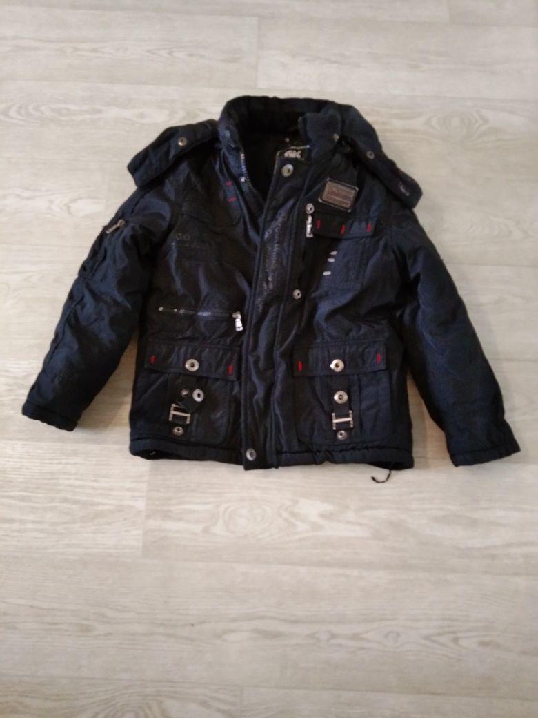 Куртка зимняя 7-8 лет.