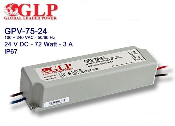 Трансформатор (Адаптер) GPV-75-24, оригинал, новый.