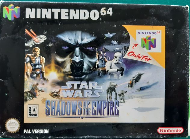 "Jogo Nintendo 64 ""Star Wars - Shadows Of The Empire"""