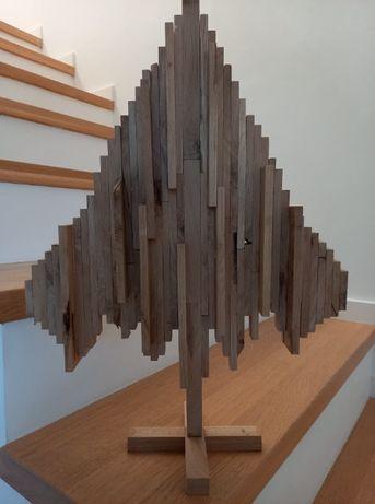 Ozdoba świąteczna - drewniana choinka