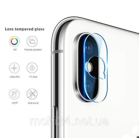 Защитное стекло на камеру для iPhone 7 8 Plus X XS XR XS Max 11 Pro