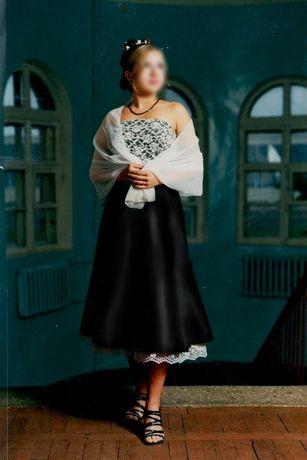 Вечернее платье в стиле ретро. Нарядное, коктейльное. Размер L большой