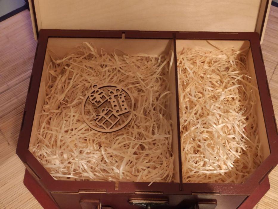 Деревянная коробка (бокс) для подарка Житомир - изображение 1